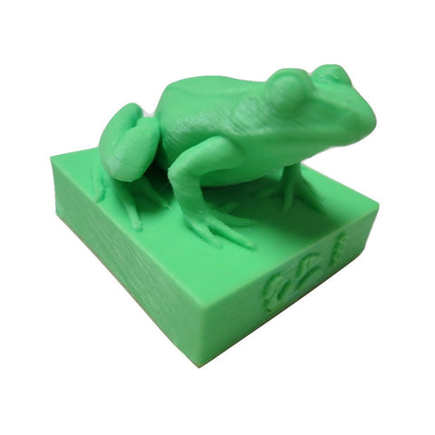Kek Statue Sculpture Figure Pepe Frog Egyptian Heket Figurine by TrendyLuz