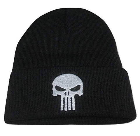 Punisher Skull Tactical Morale Knit Skull Cap Hat Beanie