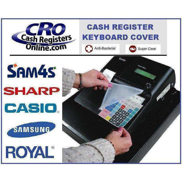Cash Register Keyboard Coves for SAM4, Samsung and Sharp