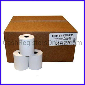 3 1/8'' x 230' Thermal Paper Rolls - Cash Registers Online