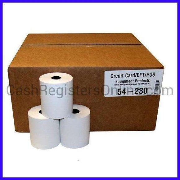 3 1/8'' x 230' Thermal Paper Rolls-Cash Registers Online