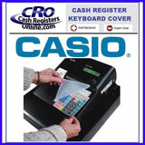 Casio Cash Register Keyboard Covers-Cash Registers Online