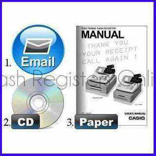 CRS Cash Register Manual - Cash Registers Online