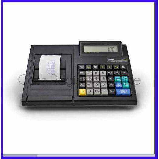 Royal 100CX Cash Register - Battery Powered - Cash Registers Online
