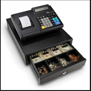 Royal 100CX Cash Register with Drawer - Battery Powered - Cash Registers Online