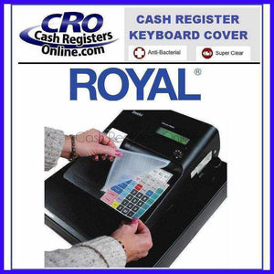 Royal Cash Register Keyboard Cover - Cash Registers Online