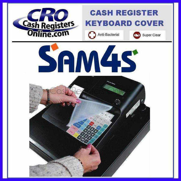SAM4s Cash Register Keyboard Cover - Cash Registers Online