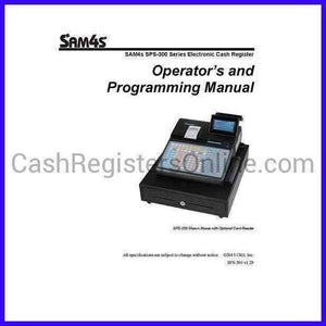 SAM4s Cash Register Manuals - Cash Registers Online