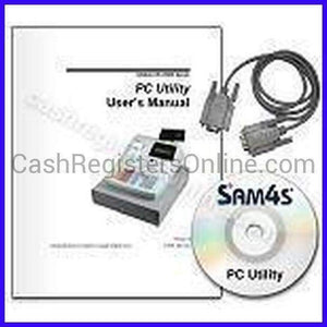 SAM4s Cash Register PcUtility Programming Software - Cash Registers Online