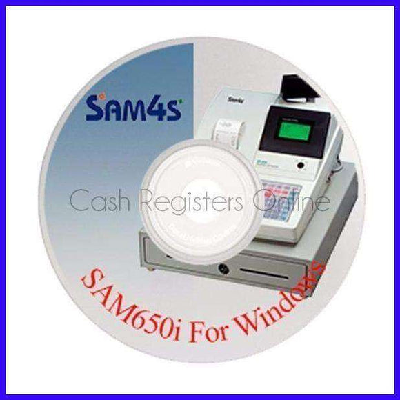 SAM4s Cash Register Programming & Reporting Software-Cash Registers Online