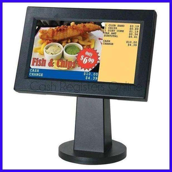 SAM4s ML700 Cash Register Graphic Customer Display - Cash Registers Online