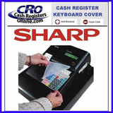 Sharp Cash Register Keyboard Covers - Cash Registers Online
