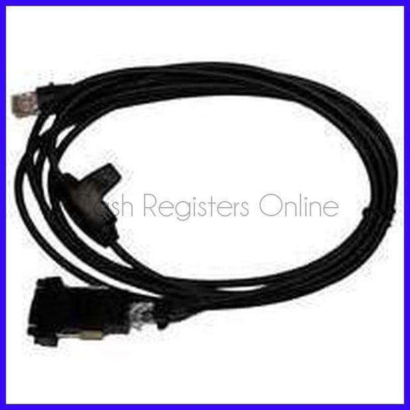 Sharp Cash Register Scanner Cable - Used with Honeywell Barcode Scanners - Discount Cash Registers, Parts and Supplies