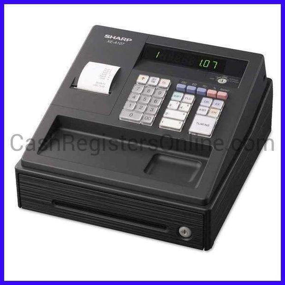 Sharp XE-A107 Cash Register - Cash Registers Online