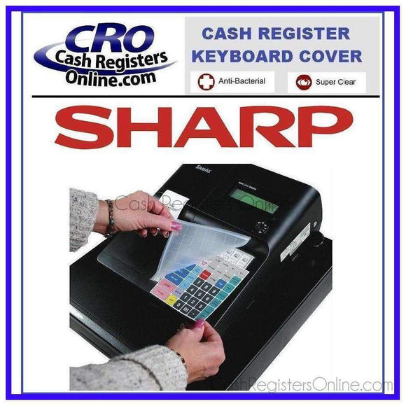 Sharp XE-A507 Cash Register Keyboard Cover - Cash Registers Online