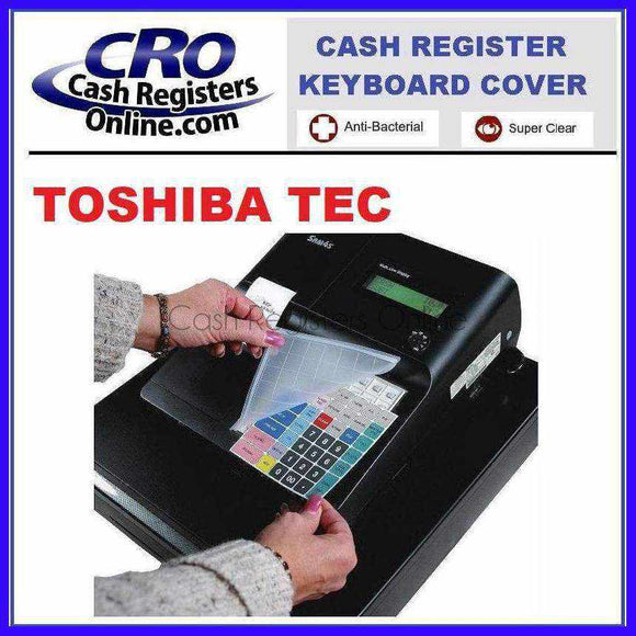 Toshiba TEC Cash Register Keyboard Covers - Cash Registers Online