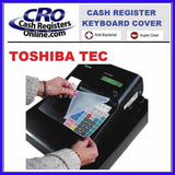 Toshiba TEC Cash Register Keyboard Covers-Cash Registers Online