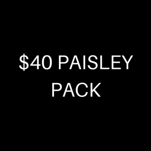 $40 PAISLEY PACK