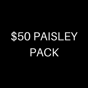 $50 PAISLEY PACK