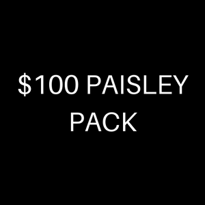 $100 PAISLEY PACK