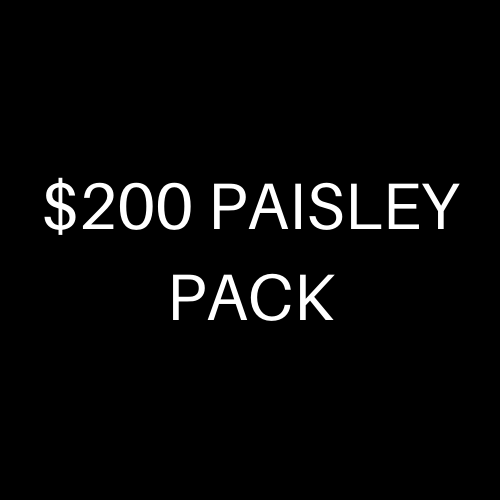 $200 PAISLEY PACK