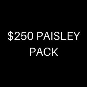 $250 PAISLEY PACK