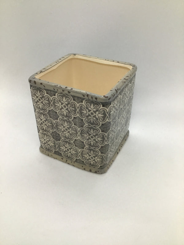 15009AL Large Square Pot