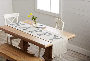 43900063 HAPPY Table Runner