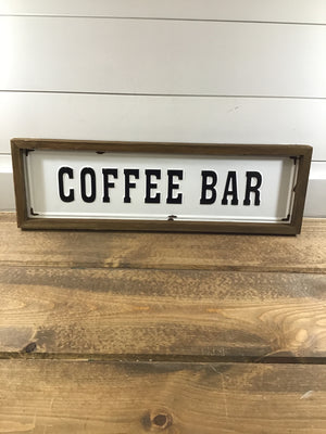 18486 Punch Coffee Sign