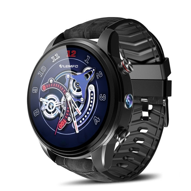 2019 Keoker LEF3 Smartwatch Men 1 39inch 4G Support SIM Card WIFI GPS  BLuetooth Android 7 1 Smartwatches For Android&IOS