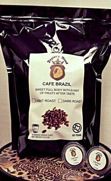 Cafe Brazil Single Serve Cups (60 Count)