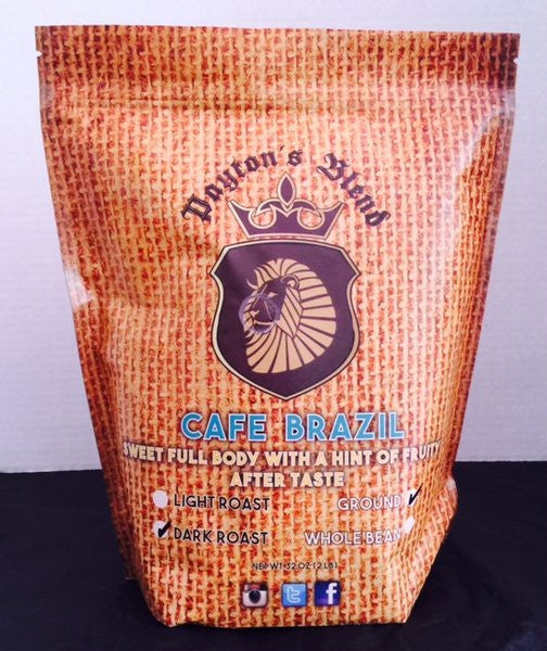 Cafe Brazil Whole Bean Coffee (2LB)
