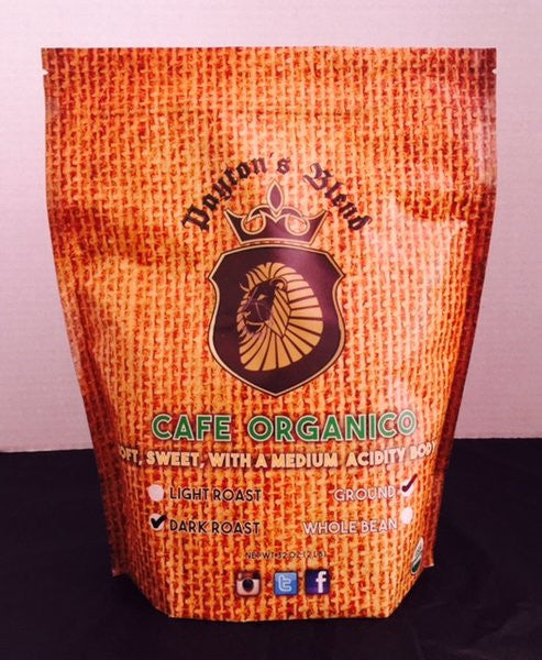 Cafe Organico Whole Bean Coffee (2LB)