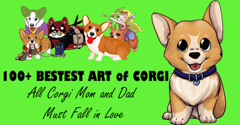 100+ Bestest Art of Corgi All Corgi Mom and Dad Must Fall in Love