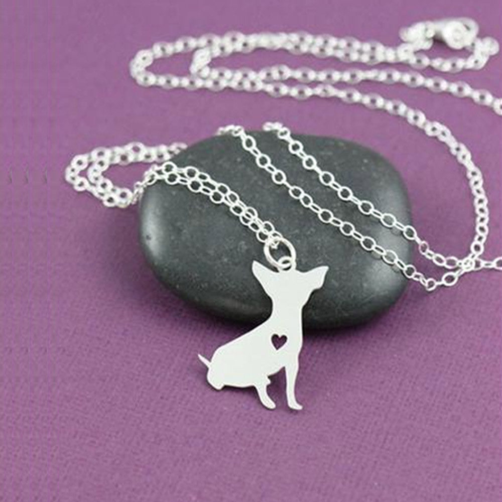 Chihuahua Necklace Custom - Christmas for lovers