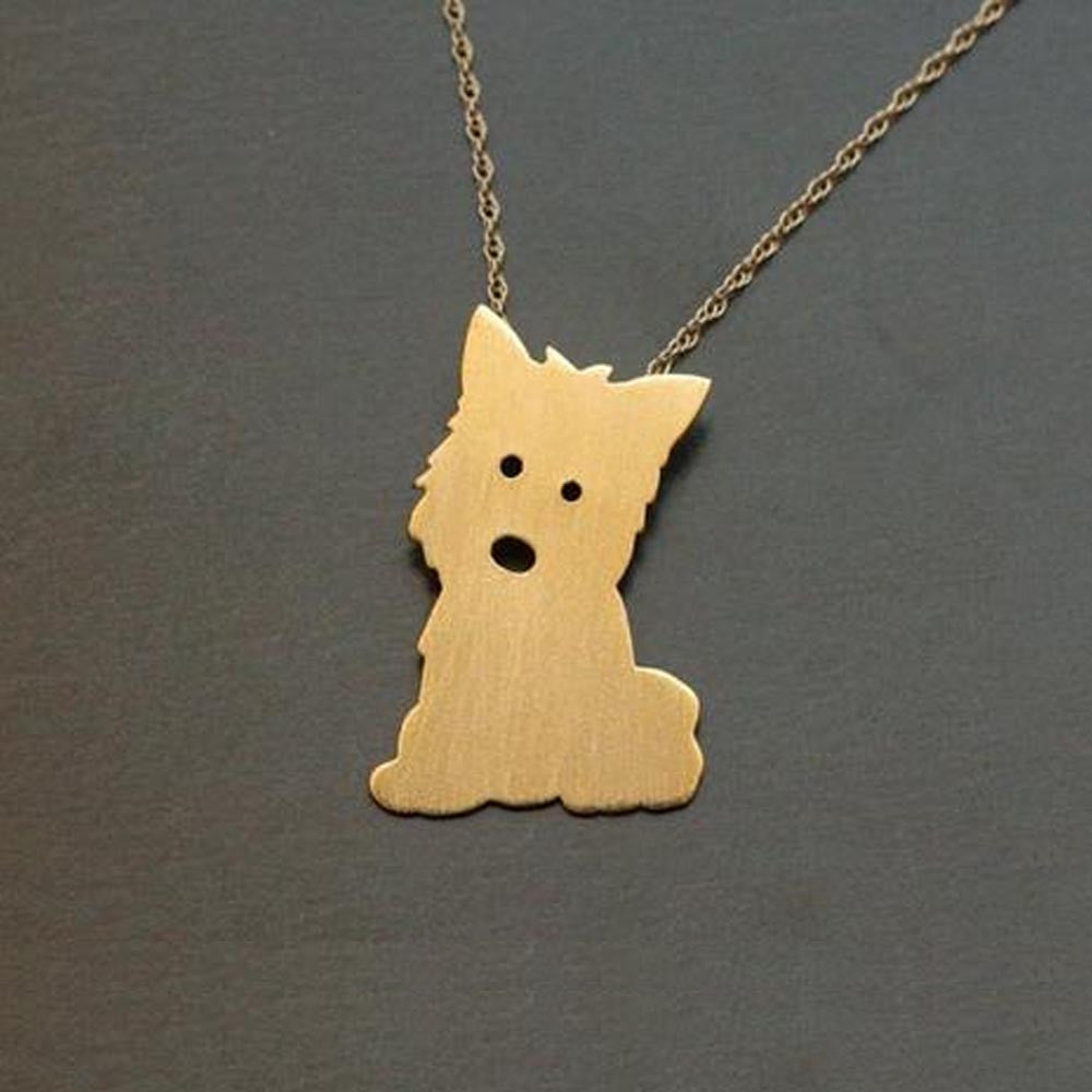 Necklace Yorkie Super Cute!