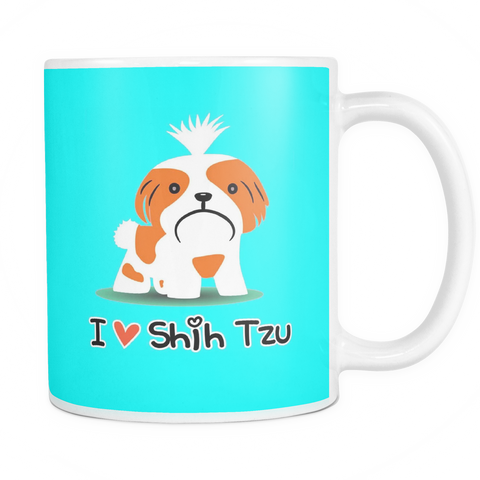 I Love Shih Tzu Coffee Mug