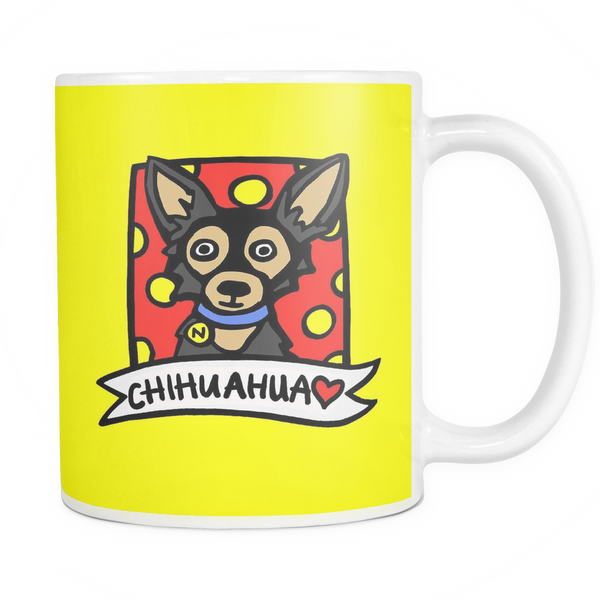 Cartoon Chihuahua Coffee Mug