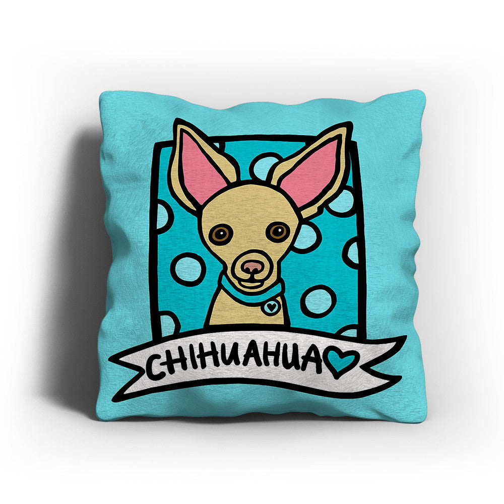 Cartoon Chihuahua Pillow