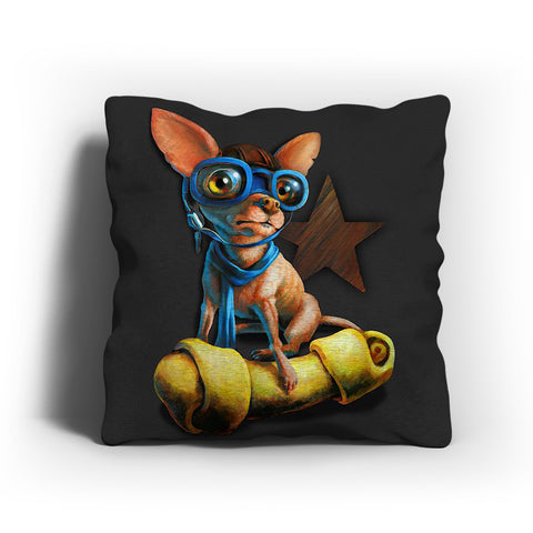 Chihuahua Art Painting Pillow