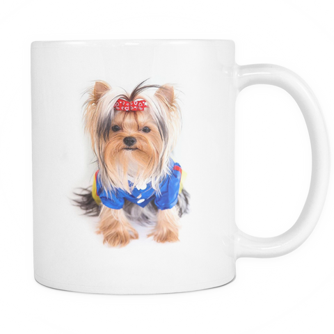Beautiful Yorkie Coffee Mug