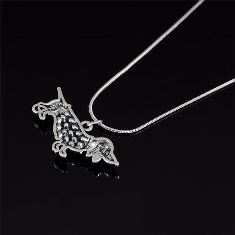 2016 New Cute Little Dachshund Pendant Necklace Crystal