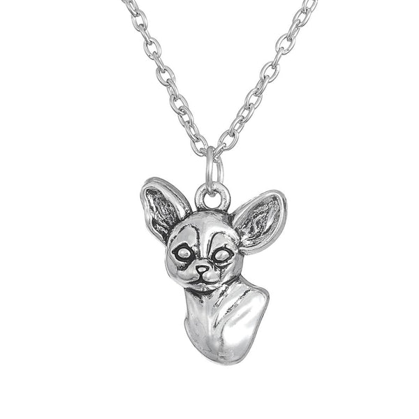 3 Style 3D Chihuahua Pendant Necklace