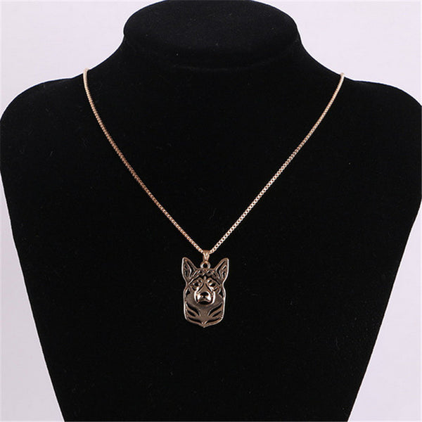 CHIC AND CUDDLY CORGI NECKLACE