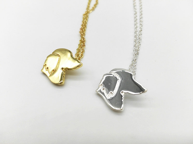 Necklace Dachshund Charm - Choker Necklace