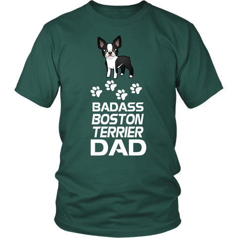 Badass Boston Terrier Dad