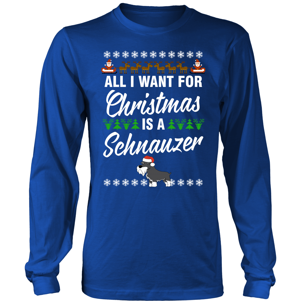 All I Want For Christmas is A Schnauzer
