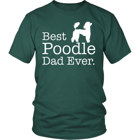 Best Poodle Dad Ever