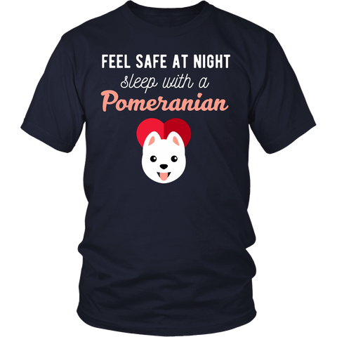 Feel Safe At Night Sleep With A Pomeranian