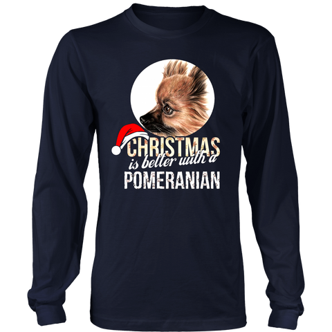 Christmas Is Better With A Pomeranian